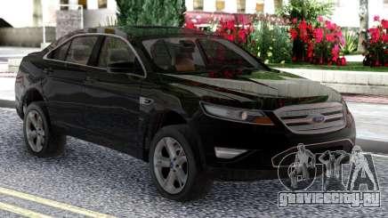 Ford Taurus SHO 2010 Black Original для GTA San Andreas