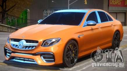 Mercedes Benz E63 AMG W213 для GTA 4