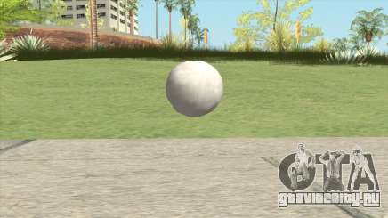 Snowball From GTA V для GTA San Andreas