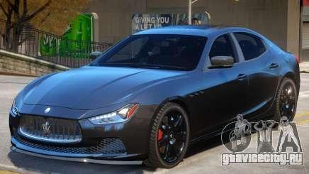 Maserati Ghibli V2 для GTA 4