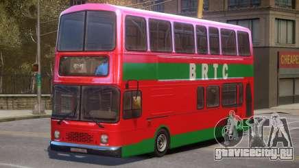 BRTC Double Decker Bus для GTA 4