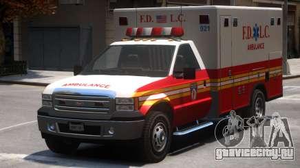 Vapid Sadler Ambulance V2 для GTA 4