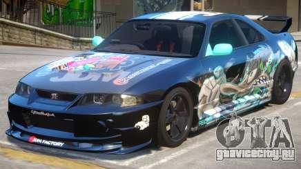 Nissan Skyline GTR PJ1 для GTA 4