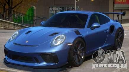 2018 Porsche 911 GT3 RS wheel black для GTA 4