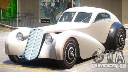 Truffade Z Type V2 для GTA 4
