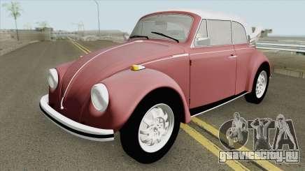 Volkswagen Fusca 75 (Conversivel) для GTA San Andreas