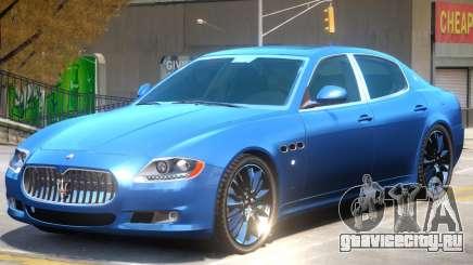 Maserati Quattroporte V1 для GTA 4