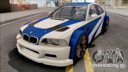 BMW M3 GTR NFS Most Wanted для GTA San Andreas