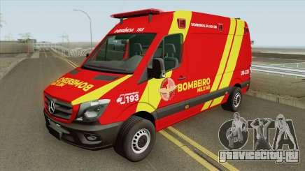 Mercedes-Benz Sprinter 2018 (Bombeiro Militar) для GTA San Andreas