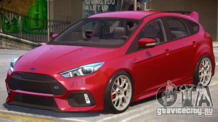 Ford Focus RS V2 для GTA 4