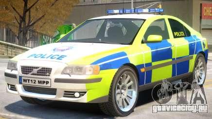 Volvo S60 Police для GTA 4
