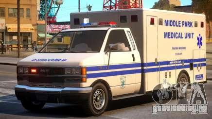 Ambulance Middle Park Medical Unit для GTA 4