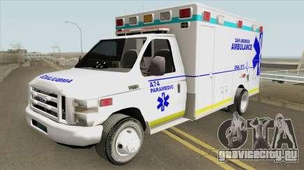 Ford E350 (San Andreas Ambulance) для GTA San Andreas
