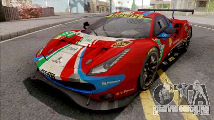 Ferrari 488 GTE Evo 2018 (AF Corse) PJ Preset 1 для GTA San Andreas