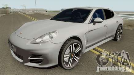 Porsche Panamera Turbo HQ для GTA San Andreas