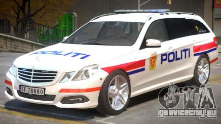 Mercedes Benz E63 Police для GTA 4