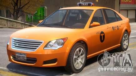 Taxi Karin Asterope V2 для GTA 4