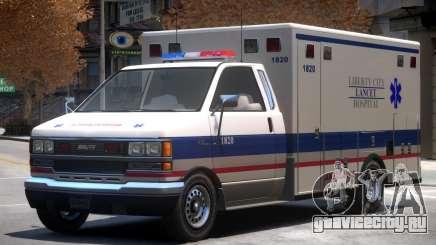 Ambulance Lancet Hospital для GTA 4