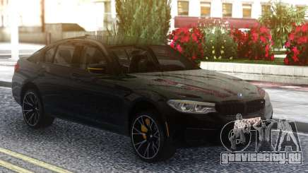 BMW M5 F90 Competition Black Series для GTA San Andreas