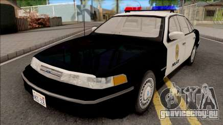 Ford Crown Victoria 1997 Hometown Police для GTA San Andreas