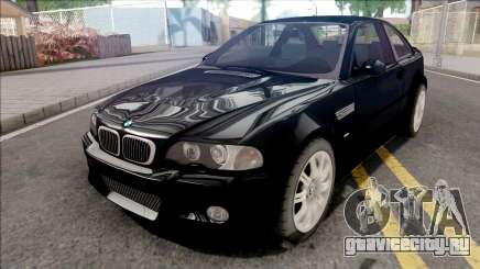 BMW M3 E46 Black для GTA San Andreas