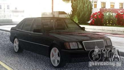 Mercedes-Benz S600 W140 Original Black для GTA San Andreas