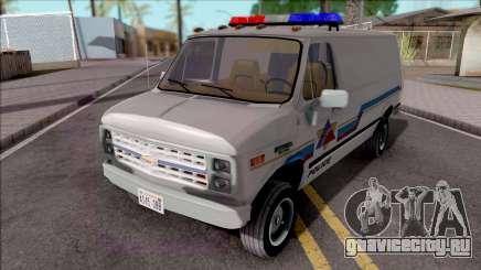 Chevrolet G20 1988 Hometown Police для GTA San Andreas