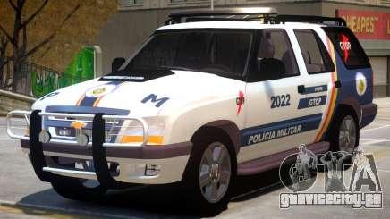 Chevrolet Blazer Police для GTA 4