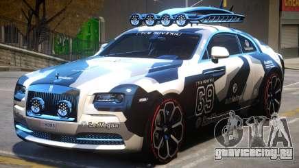 Rolls Royce Wraith 2014 V2 для GTA 4