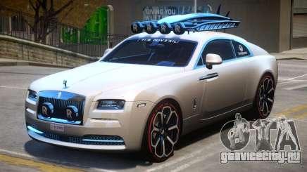 Rolls Royce Wraith 2014 V1 для GTA 4