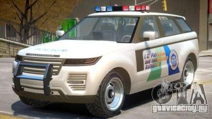 Gallivanter Baller Police для GTA 4
