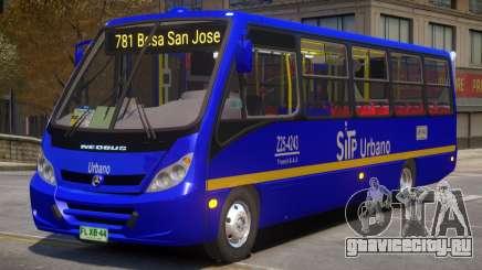 Colombia Bus Sitp V1.1 для GTA 4