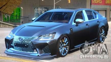 Lexus GS-F 2019 для GTA 4