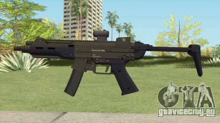 Hawk And Little SMG (Two Upgrades V1) GTA V для GTA San Andreas