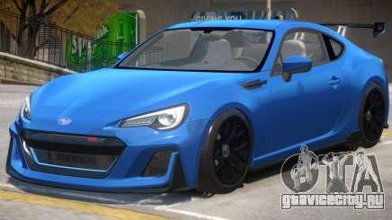Subaru BRZ STi для GTA 4