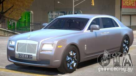 Rolls Royce Ghost V2 для GTA 4