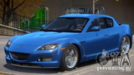 Mazda RX-8 VC для GTA 4