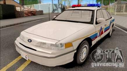 Ford Crown Victoria 1993 Hometown Police для GTA San Andreas