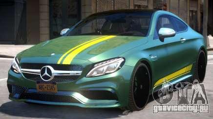2016 Mercedes Benz AMG C63 S для GTA 4