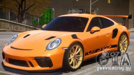 2018 Porsche 911 GT3 RS wheel gold для GTA 4