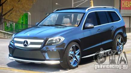 Mercedes Benz GL63 V2 для GTA 4