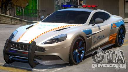 AM Vanquish Police для GTA 4