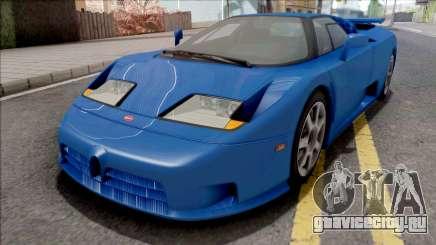 Bugatti EB110 SS (US-Spec) 1992 HQLM для GTA San Andreas