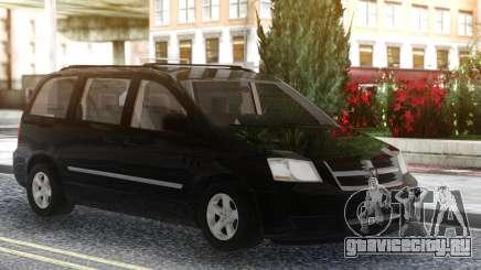 Dodge Grand Caravan 2010 Black для GTA San Andreas