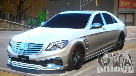 Mersedes Benz Wald для GTA 4