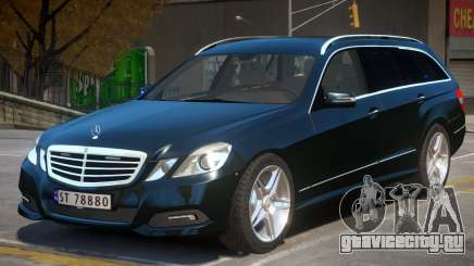 Mercedes Benz E Class Police для GTA 4