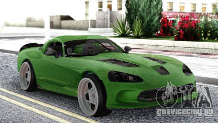 Dodge Viper SRT10 Formula Drift для GTA San Andreas