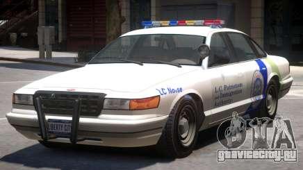 Police Vapid Stanier V2 для GTA 4