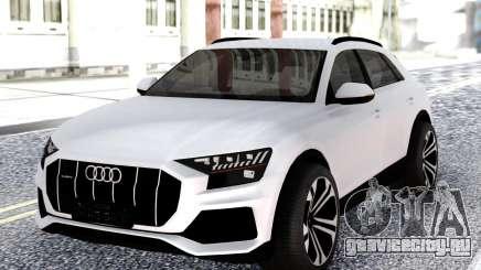 Audi Q8 2019 White для GTA San Andreas