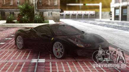 Ferrari 488 Pista 2019 Black для GTA San Andreas